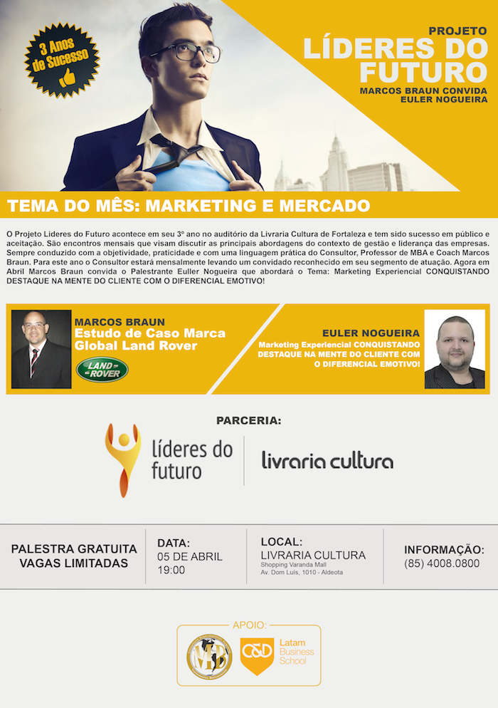Lideres do Futuro - Marketing Experiencial